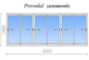Калькулятор балконов и лоджий - рассчитать цену остекления б.